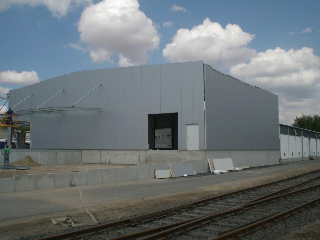 Gebäude für Logistikunternehmen