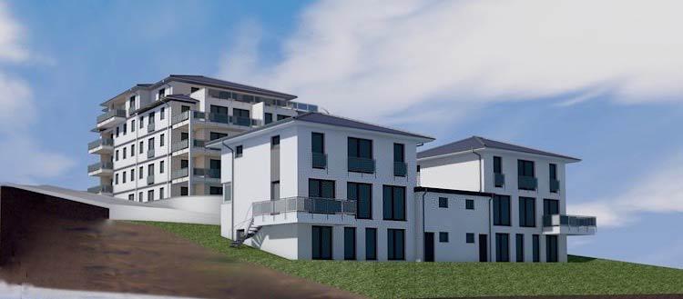 Projekte Mehrfamilienhäuser zur Vermietung