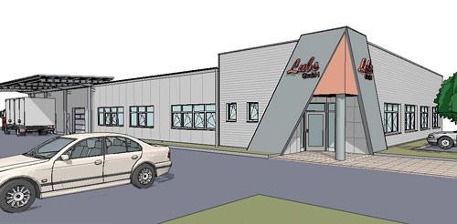 Unsere Leistungen für Gewerbliche Bauten - Produktionsstätten